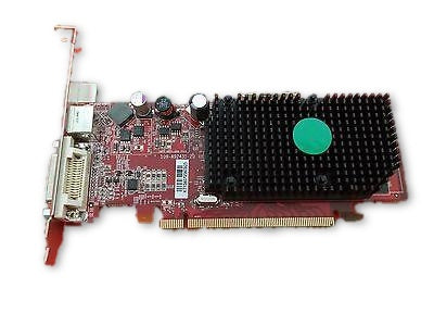 ATI Radeon ATI-102-A924 (B) 256MB PCI-E Low Profile Video Card Dell KT154 #264