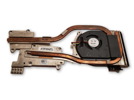 DELL LATITUDE E6520 COMPLETE FAN AND HEATSYNC ASSEMBLY J12WD