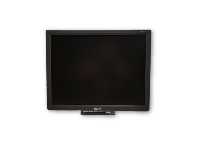 "Acer AL1516 15"" LCD Flat Screen Monitor - No Stand"