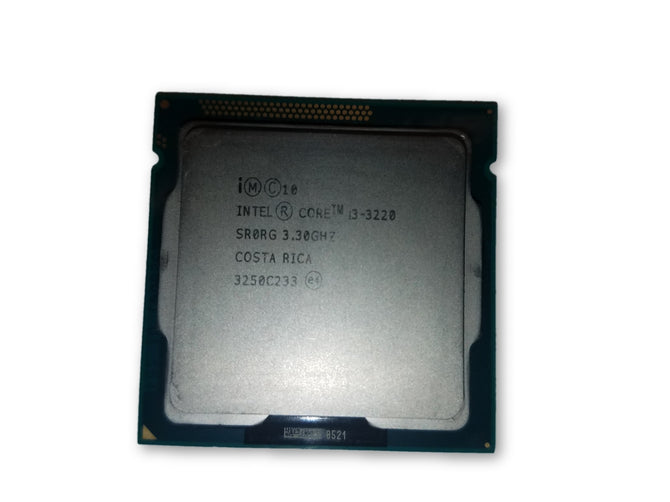 Intel SR0RG Core i3-3220 3.30GHz 3M Cache LGA 1155 Processor