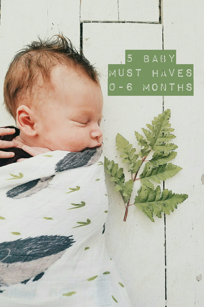 Top 5 Baby Must Haves 0-6 Months