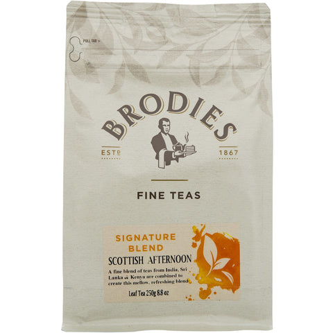 Brodies Scottish Afternoon Tea Loose Leaf - 8.8oz - The Scottish Grocer