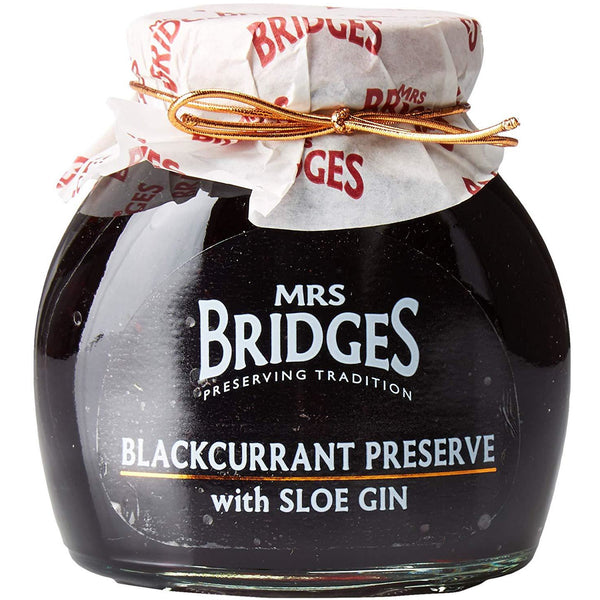 Blackcurrant Preserve with Sloe Gin - 12oz