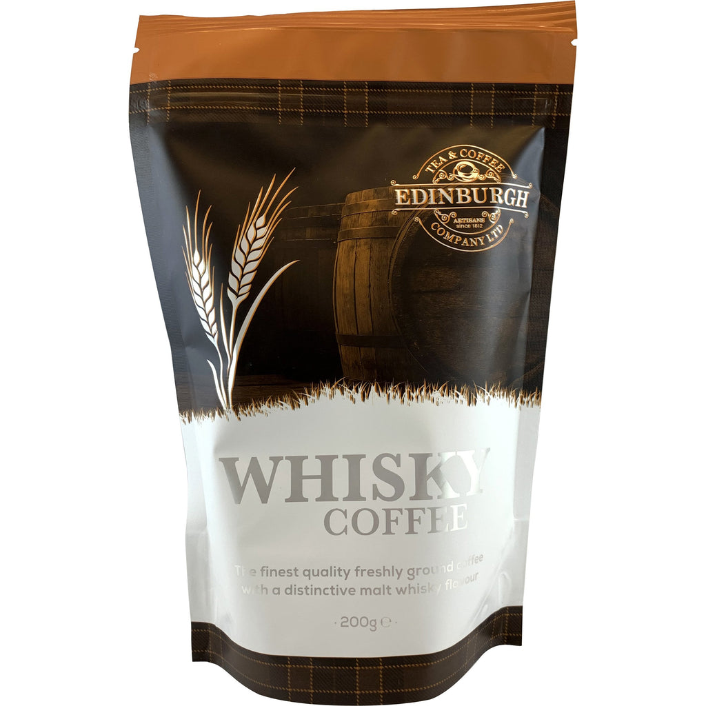 Scotch Whisky Flavored Ground Coffee