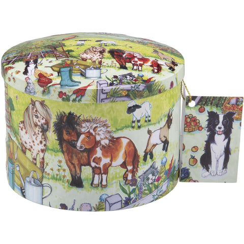 Fun On The Farm Dairy Cream Fudge Tin- 7oz