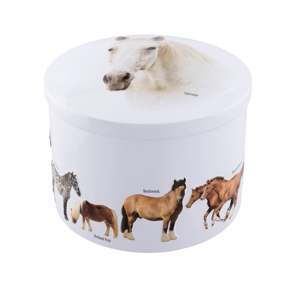Horses Tin - Vanilla Fudge - 7oz