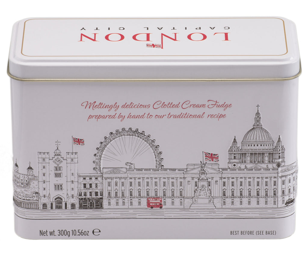 London City Clotted Cream Fudge Tin