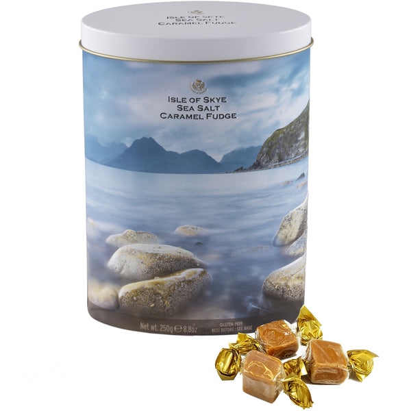 Isle of Skye Sea Salt Caramel Fudge - The Scottish Grocer