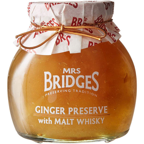 Ginger Preserve with Malt Whisky - 12oz
