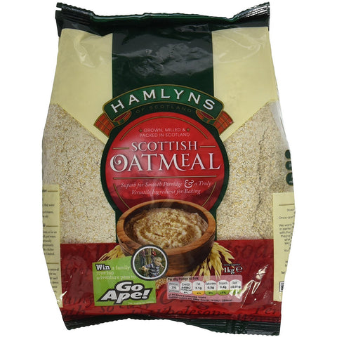 Hamlyns Scottish Oatmeal, 35 Ounce