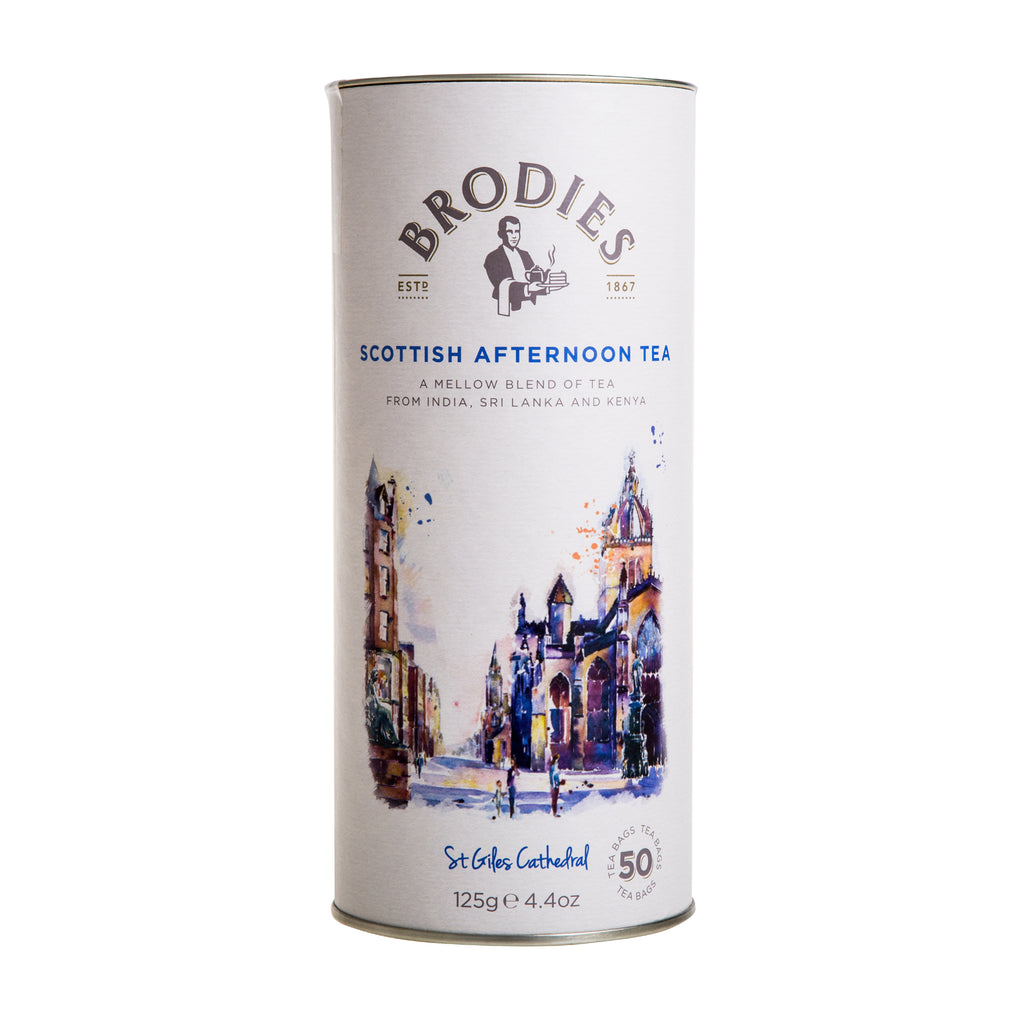 Scottish Afternoon Tea Drum - 8.8oz - The Scottish Grocer
