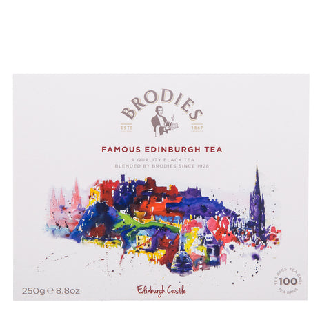 Brodies Famous Edinburgh Tea 100 Tea Bags - The Scottish Grocer
