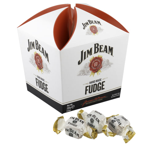 Jim Beam Bourbon Whisky Fudge Carton, 8.8 Ounce