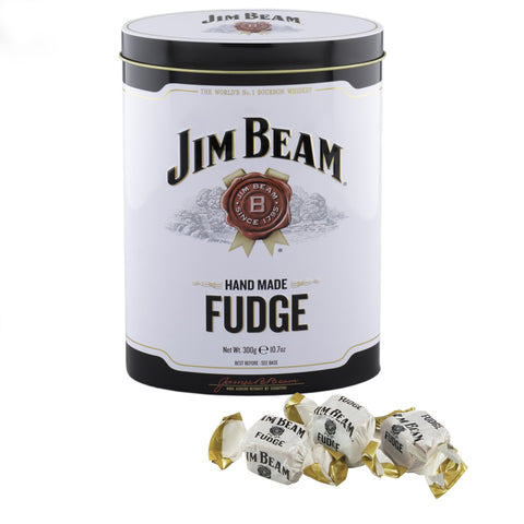 Jim Beam Bourbon Whisky Fudge Tin, 10.7 Ounce