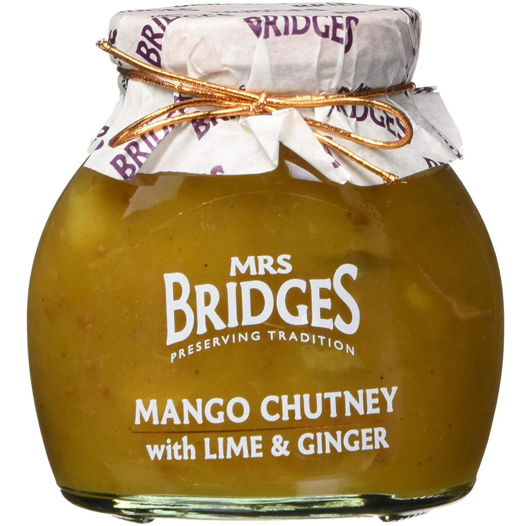 Mango Chutney with Lime and Ginger