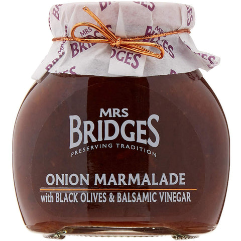 Onion Marmalade w/Black Olives & Balsamic Vinegar- 10oz