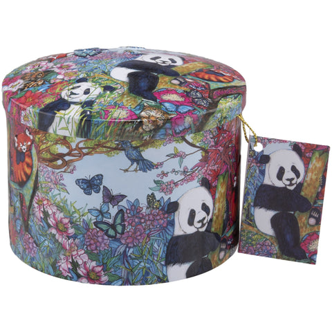 Pandas Playing Vanilla Fudge Tin- 7oz