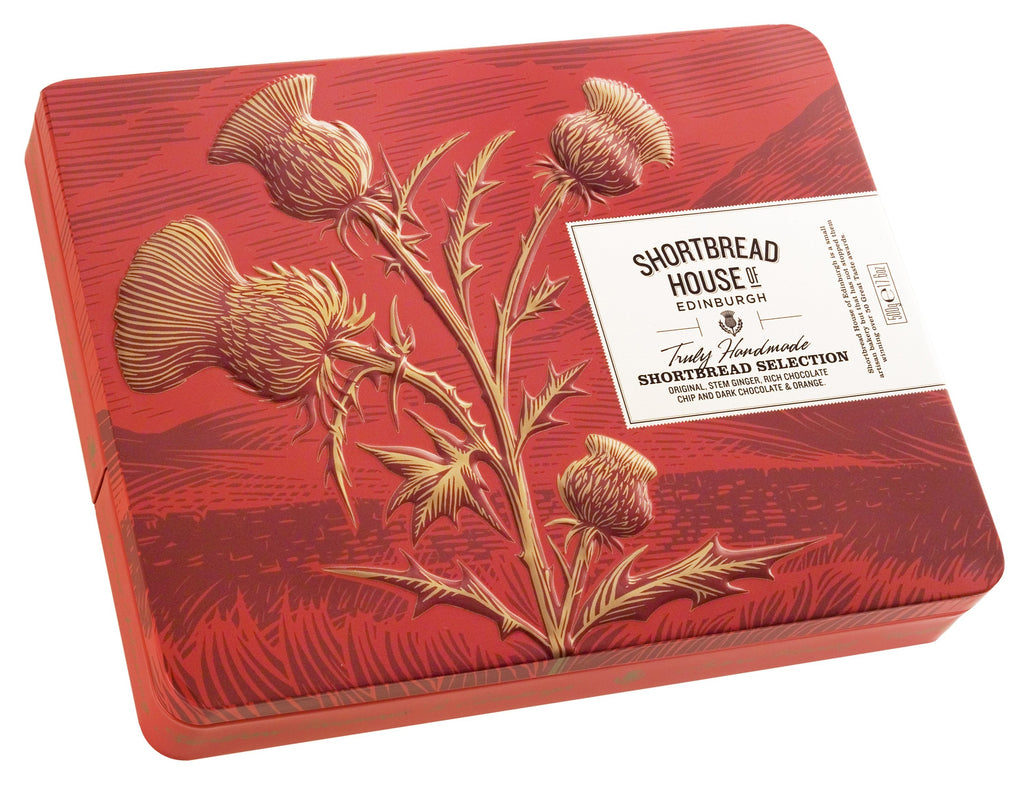Shortbread Assorted Fingers Gift Tin