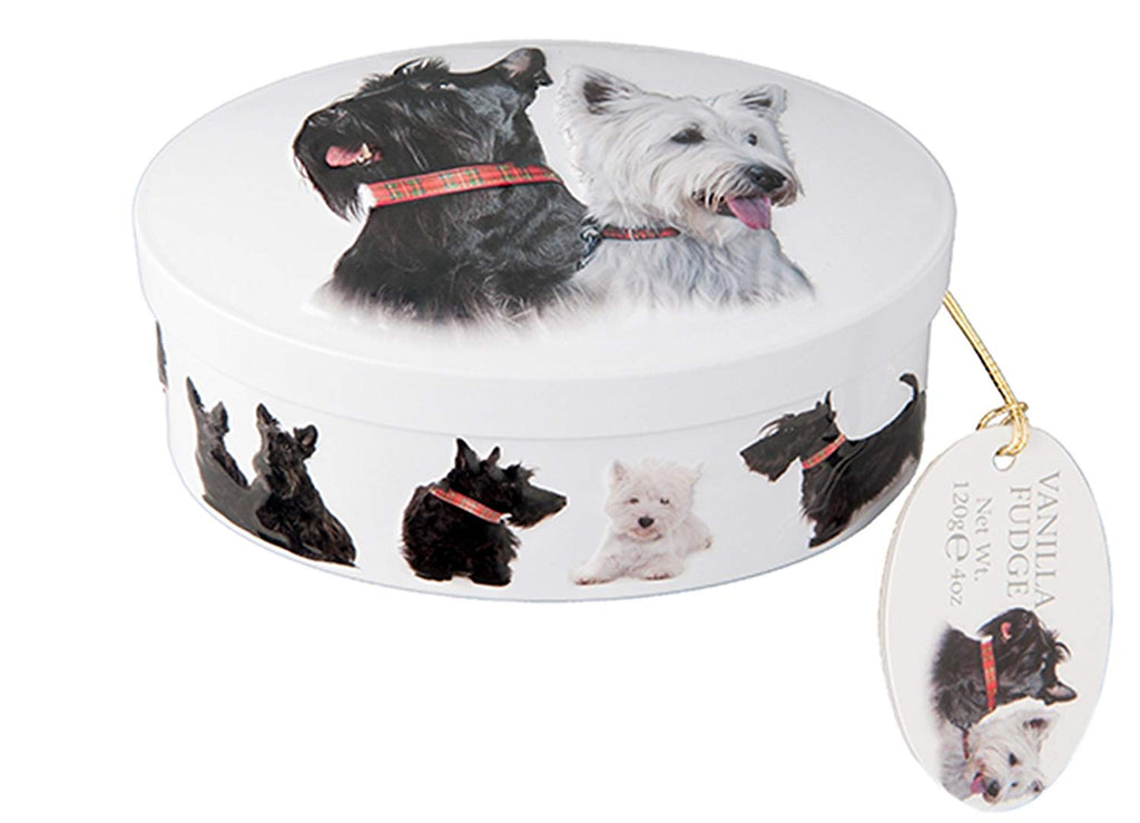 Gardiners Scottie Dogs Fudge Tin