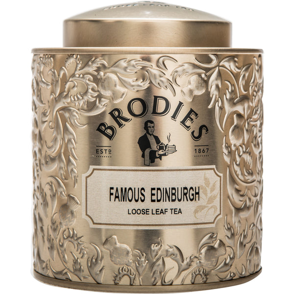 Brodies Famous Edinburgh Tea Loose Leaf Gift Tin