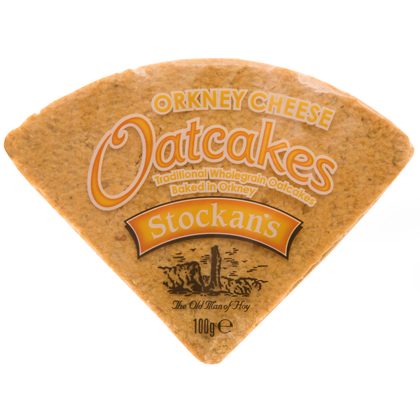 Stockans Thin Cheese Oatcakes