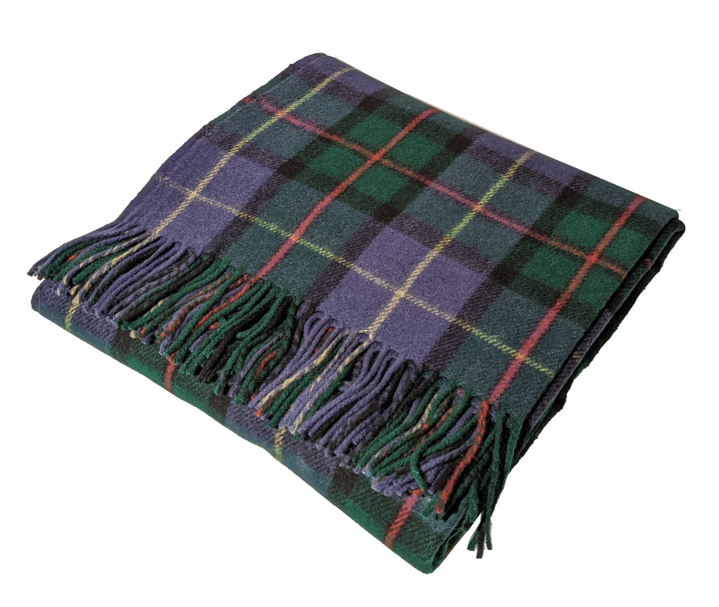 """Macleod of Harris"" Wool Blend Blanket"