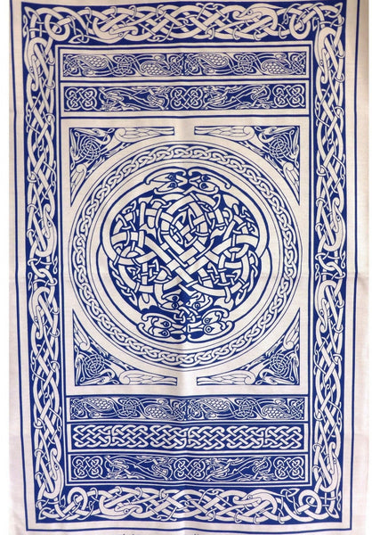 Celtic Tea Towel / Wall Hanging