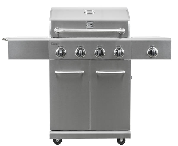 Kenmore 4 Burner plus Side Burner Stainless Steel Grill