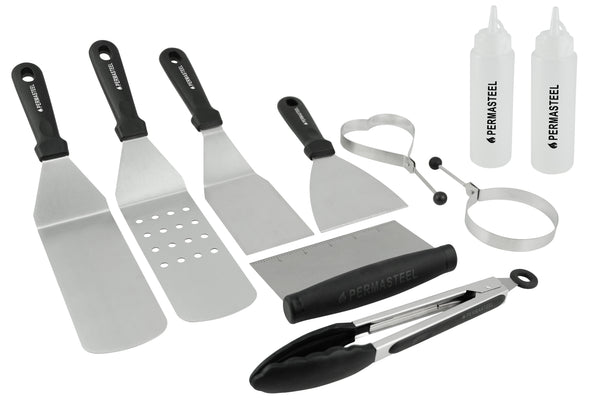 Permasteel Griddle Accessories Kit (10-Pieces)