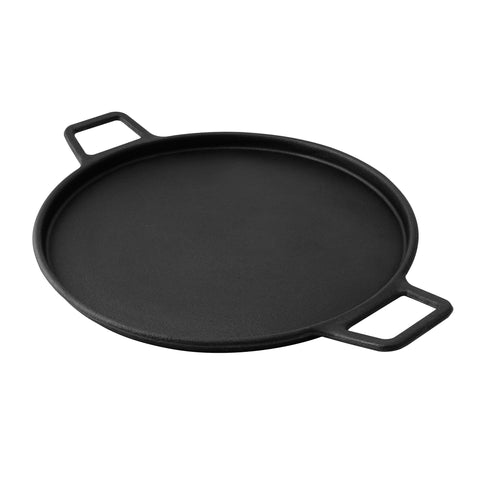 "Kenmore 14"" Cast Iron Pizza Pan"