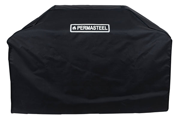 "Permasteel 72"" Black Gas grill Cover"