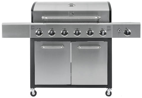 Kenmore 6 Burner XL Plus Side Burner Grill
