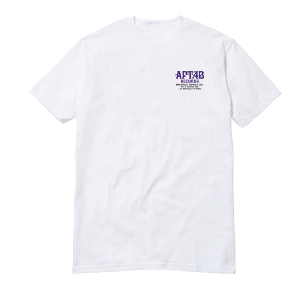 "APT.4B ""Records"" Tee"