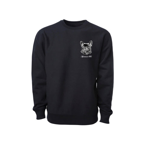 "APT.4B ""Bully"" Crewneck in Black"