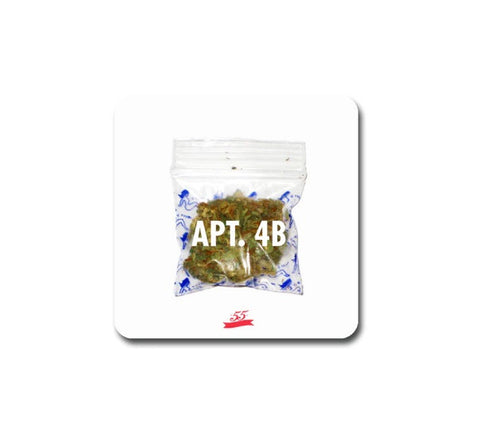 APT.4B x 55MM PRJCT Collaborative Coaster Set