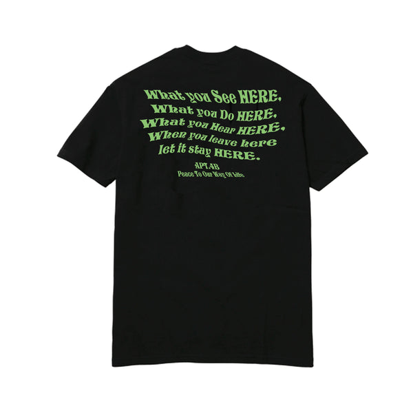 APT.4B Wise T-Shirt in Black (back)