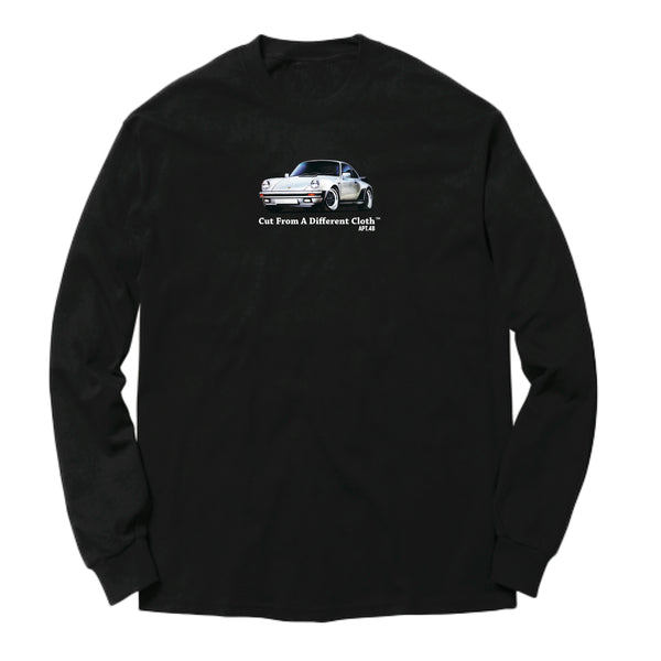 APT.4B Porsche 911 Long Sleeve T-Shirt in Black