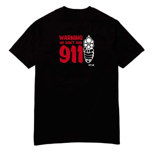 "APT.4B ""WARNING"" Tee"