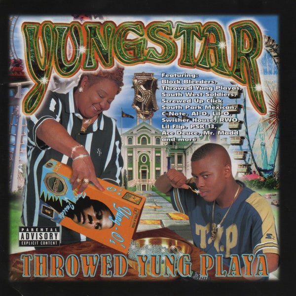 Yungstar - Throwed Yung Playa (CD)