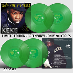Lil' Keke - Don't Mess Wit Texas (Vinyl Record) (2 Disc Set)