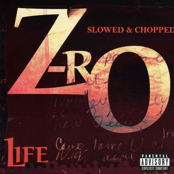 Z-Ro Life (Slowed & Chopped)(CD)