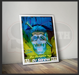 "DJ Screw - POSTER ""All Screwed Up (25th Anniversary) (FREE SHIPPING)"