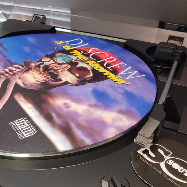 3' N The Mornin' (DJ Turntable Mat)