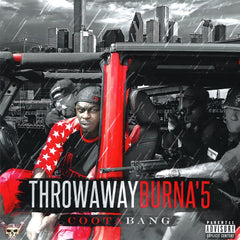 Throwaway Burna'5 (mp3 CD)