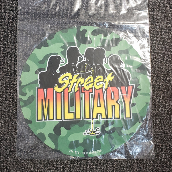 Street Military - DJ Turntable Mat (Camo)