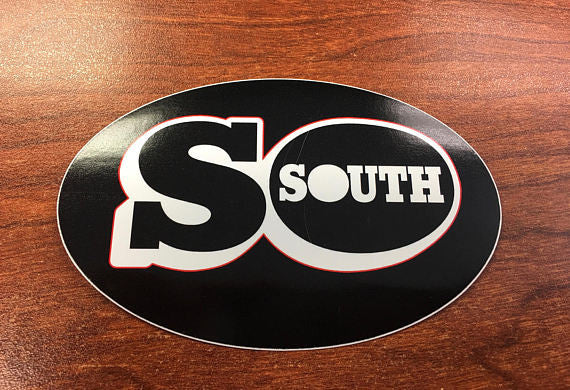 SoSouth STICKER (SoSouth.com, SoSouth Music Distribution)