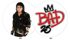 Bad: 25th Anniversary (Vinyl Picture Disc Record)