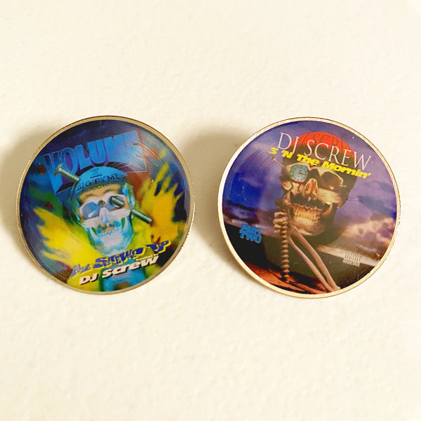 DJ Screw - All Screwed Up Hat-Pin Set (2)