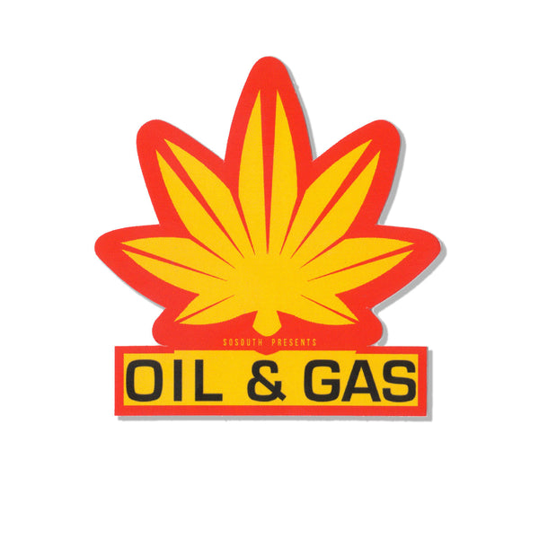 Oil & Gas Stickers (5 Count)