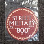 Street Military DJ Turntable Mat